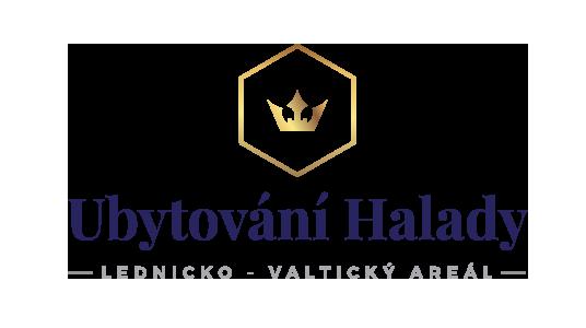 Ubytování Halady Logo